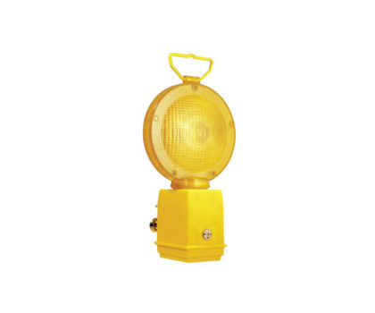 Hoiatuslamp 180 mm ühe aku pesaga