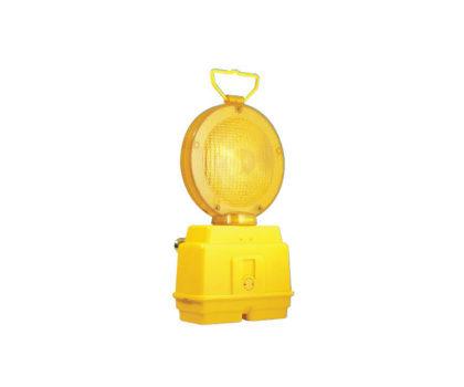 Hoiatuslamp 180 mm kahe aku pesaga